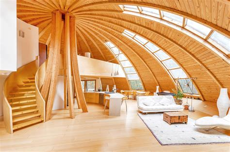 dome home interior design eco rotating dome country retreat idesignarch