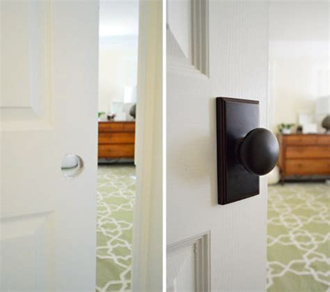 How To Install Door Knob On New Door by Remodelaholic Best Diy Door Tips Installation Framing