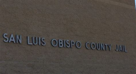 Slo County Arrest Records Another Dies In County Custody