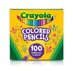 crayola coloring pencils crayola colored pencils 100 count
