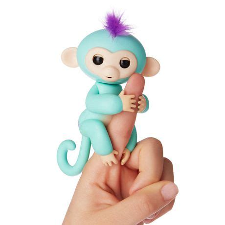 aliexpress fingerlings fingerlings wowwee baby monkey interactive pet walmart