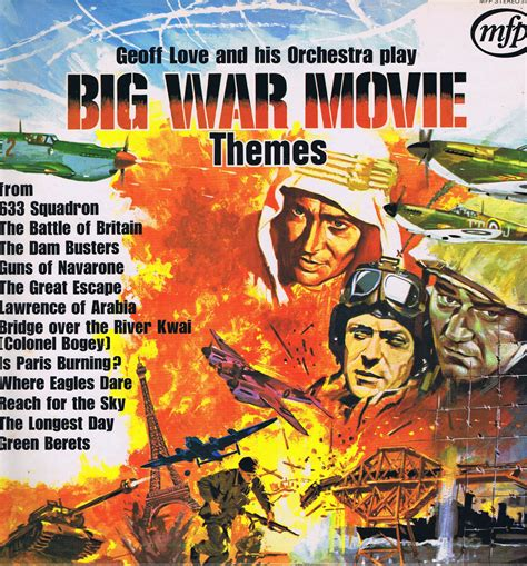 themes of love and war in arms and the man geoff love his orchestra big war movie themes lp