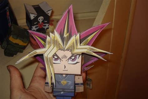Yugioh Papercraft - yu gi oh papercraft by nickeltier on deviantart