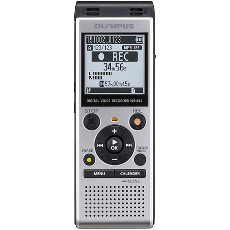 Usb Voice Recorder With Memory Card Slot Uj88 olympus digital voice recorder 4gb dictaphone built in usb micro sd slot ws852 ebay