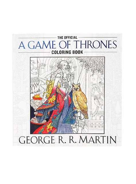 touched the official coloring book books of thrones the official coloring book topic