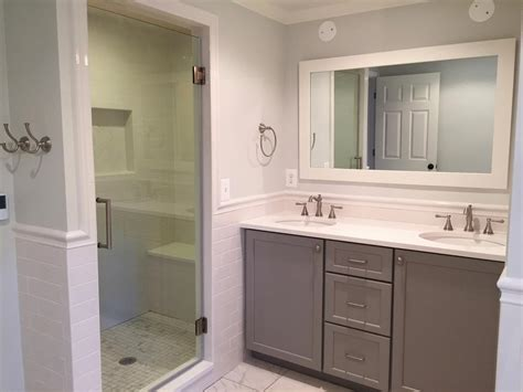 bathroom remodel in vienna va bianco renovations