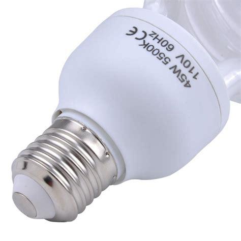 45 watt light bulb 45 watt compact fluorescent spectrum 5500k photo