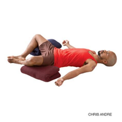 reclining bound angle pose the right and the wrong yoga workout for a good night s