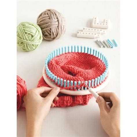 martha stewart knitting loom patterns martha stewart crafts knit and weave loom kit