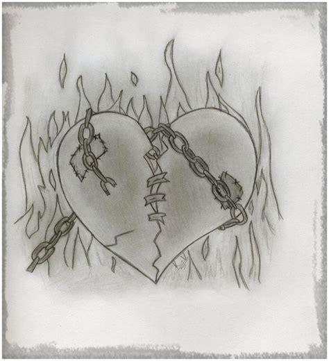 imagenes de amor roto para dibujar como dibujar un corazon roto a lapiz archivos dibujos de