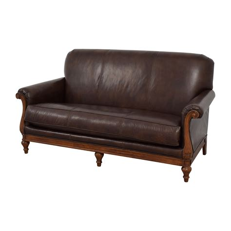 thomasville leather sofa prices 73 off thomasville thomasville mid century leather sofa