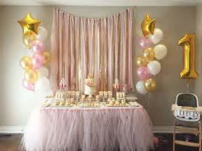 Table Decoration Ideas For Birthday Party pink and gold birthday party ideas gold birthday party