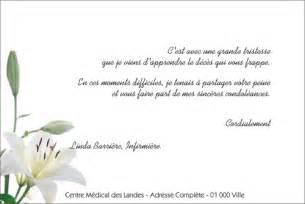 Exemple De Lettre Condoleance Exemple Lettre Sinceres Condoleances