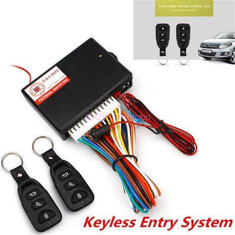 Cental Lock System Security universal car remote central kit door lock locking alarm keyless entry system ebay