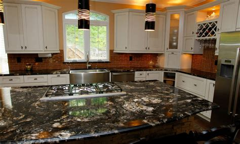 Titanium Granite Countertops With White Cabinets titanium granite white cabinets backsplash ideas