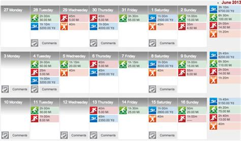 triathlon workout calendar template eoua blog