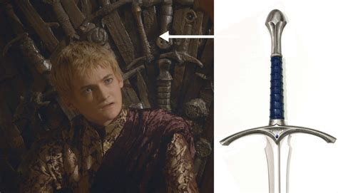 gandalf s sword is forged into of thrones iron