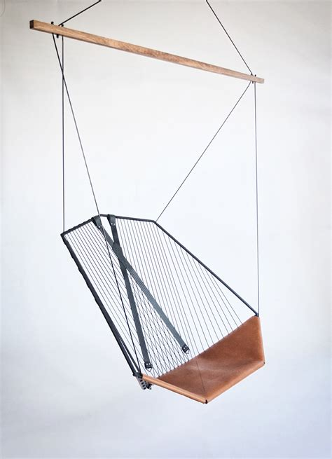 modern hanging chair modern hanging chairs take the coziness outside