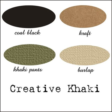 what color is khaki it s all about crafting khaki color challenge
