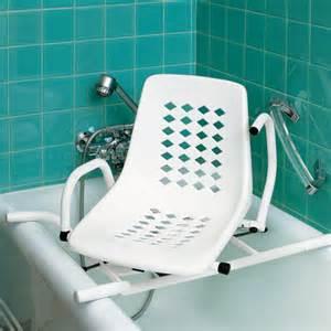 siege de bain pivotant accoudoirs escamotables chaise et