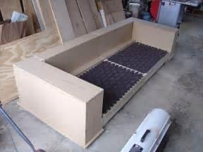 How To Build A Sofa Bed Modern Diy Sofa Eric Dalpiaz