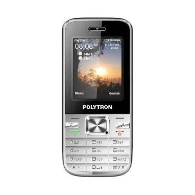 Handphone Polytron C202 Silver jual polytron c202 handphone silver harga