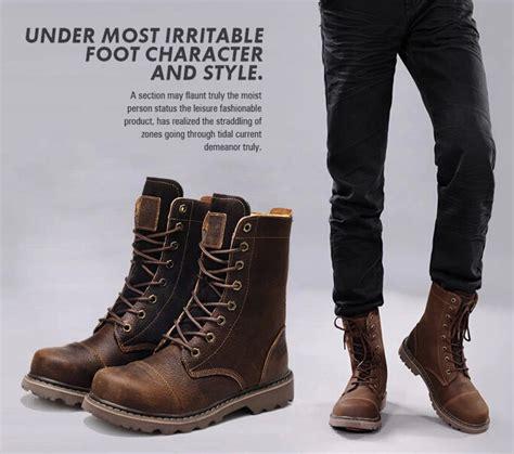 Sepatu Boots Branded pengertian dan jenis sepatu boots pria branded