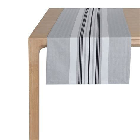 Chemin De Table Blanc Et Gris by Chemin De Table Gris Et Blanc
