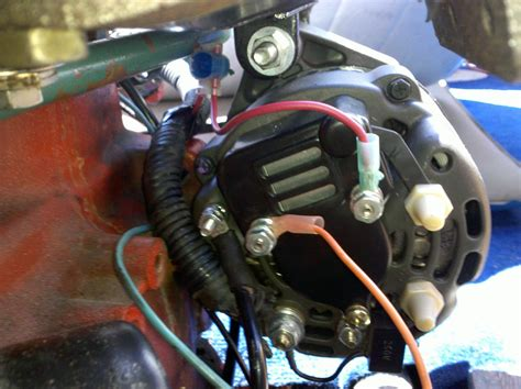 how do you change alternator in 2000 new beetle 1 9 tdi volvo penta aq130c 270 new alternator not charging system