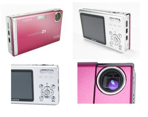 Fujifilm Finepix Z5m Ultracompact Digicam In Pink by 301 Moved Permanently