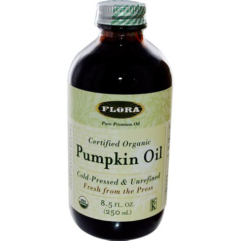 Organic Pumpkinseed flora certified organic pumpkin 8 5 fl oz 250 ml