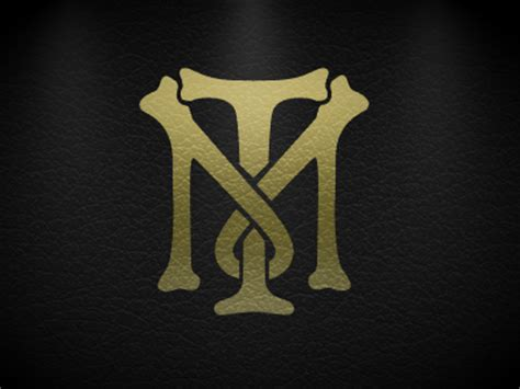 tony montana monogram wallpaper by robert padbury dribbble