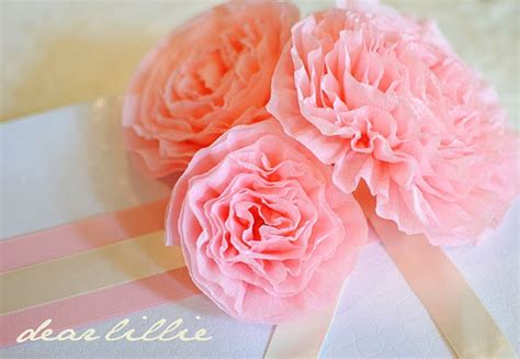 tutorial crepe paper flower spring flowers crepe paper tutorial nifty ideas