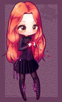 cute anime chibi girl with red hair ifabulicious by yamio deviantart com on deviantart