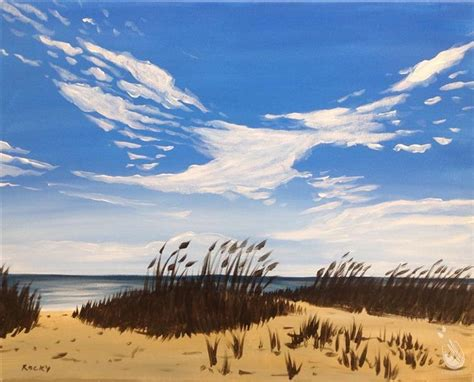 paint with a twist saco me coastal sand dunes wednesday february 28 2018