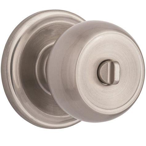 Brinks Home Security Door Knobs by Brinks Home Security Stafford Satin Nickel Turn Lock