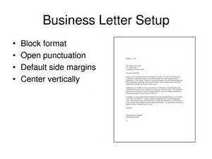 Business Letter Set Up Exle Business Letter Format Exle With Enclosure