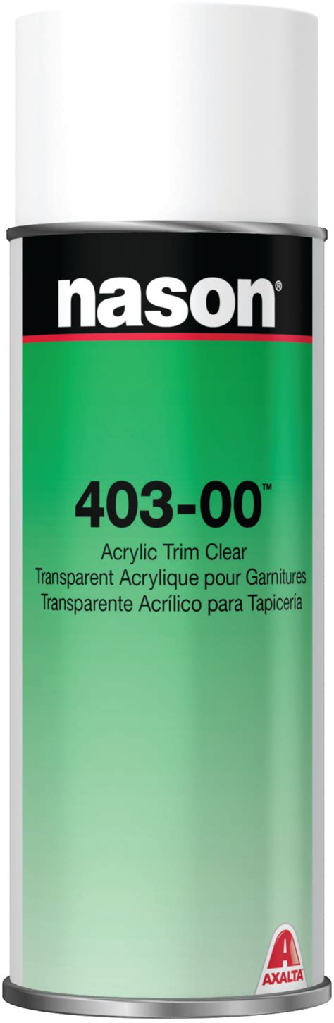 axalta nason 40300 acrylic trim clear