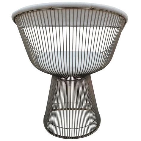 set of four iconic warren platner for knoll dining chairs