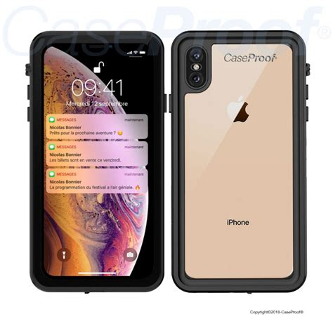new waterproof shockproof for iphone xs max 360 176 optimal protection