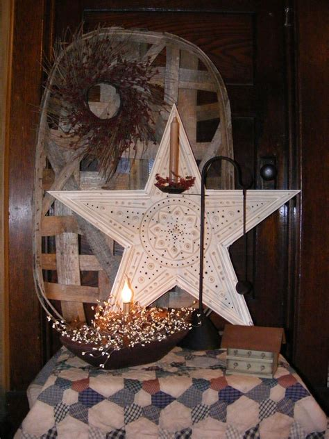 primitive rustic home decor pretty display love it all primitives pinterest