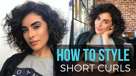 how to look stylish while hair is growing in from chemo loss how to style short curly hair wet to dry tutorial youtube