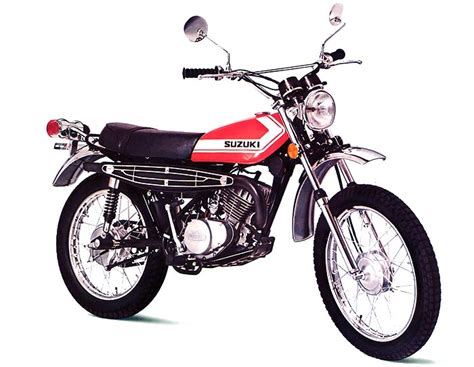 Ts185 Suzuki Suzuki Ts185 Model History