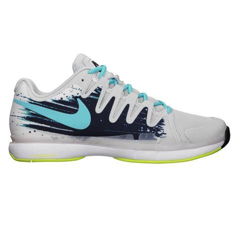 nike mens zoom vapor 9 5 tour tennis shoes grey blue