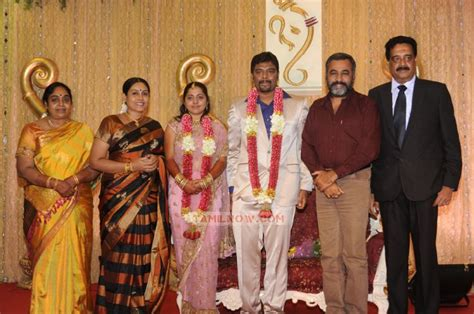 Saranya Ponvannan At Anbalaya Prabhakaran Son Reception