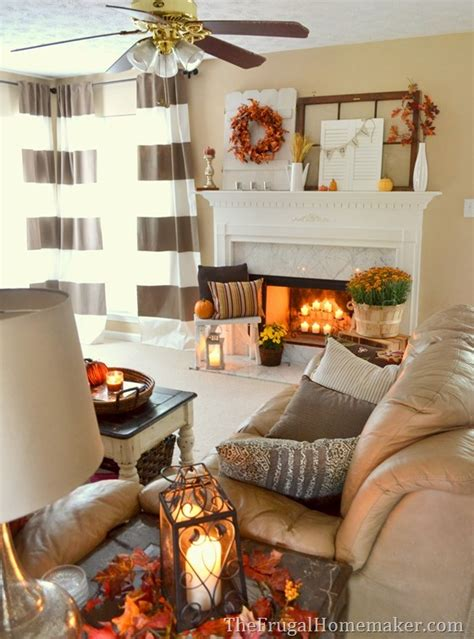 Fall Apartment Decorating Ideas 31 Days Of Fall Inspiration Fall Mantel