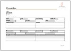 prince2 change request template change log document template images frompo
