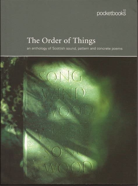 the order of things books poems on the page and in the world
