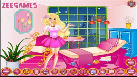 barbie bedroom decoration games decorating games for adults barbie room decor online cute