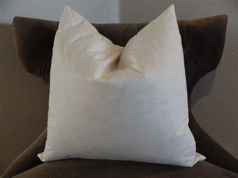 Pillow Inserts by Ready To Ship 18 Feather Pillow Insert 18x18